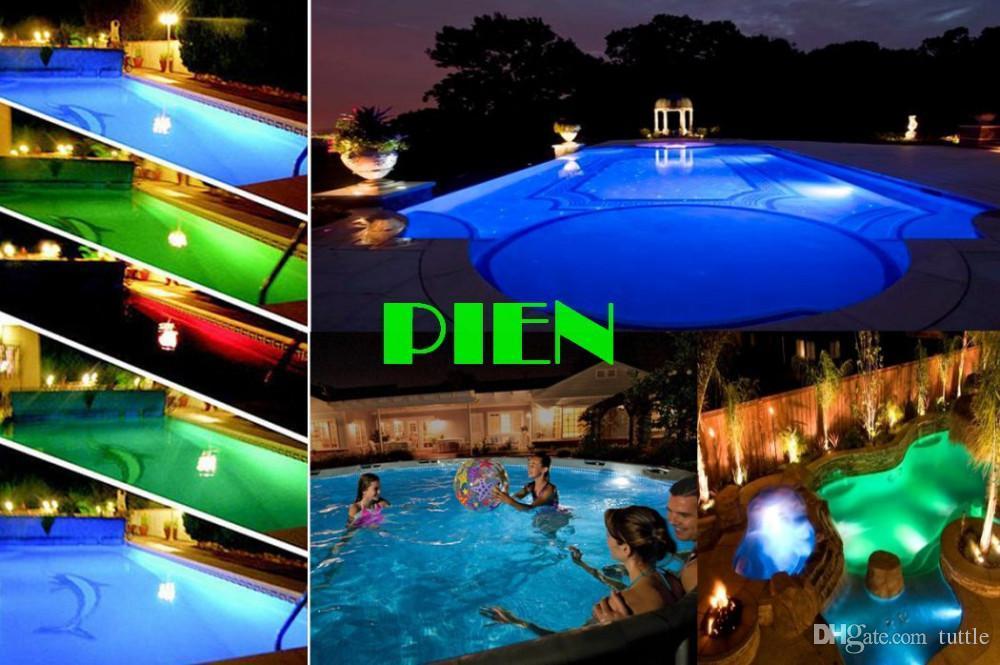 Il trasporto libero del DHL ha condotto la luce subacquea principale RGB 10W 12V ha condotto la luce subacquea i 1000LM impermeabilizzano l'illuminazione della lampada dello stagno della fontana IP68