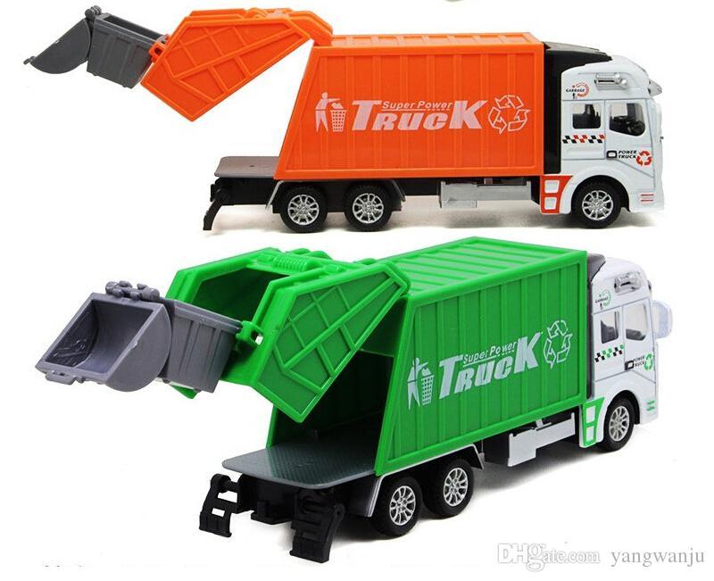 أفضل بائع جودة عالية giocattolo أطفال الأطفال التعليمية شاحنة القمامة لعبة سيارة كما عيد الميلاد الجملة juguete بالجملة