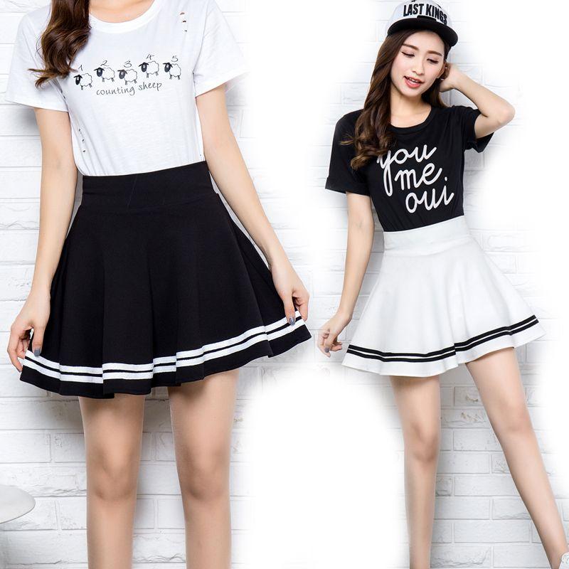 bc1c9d38914b New Summer Women s Skirts Sexy Short Skater for Girl Ladies Pleated Tutu  School Retro Skirt Fashion Faldas Jupe Ball Gown Women Skirts Mini Skirt  Girls ...