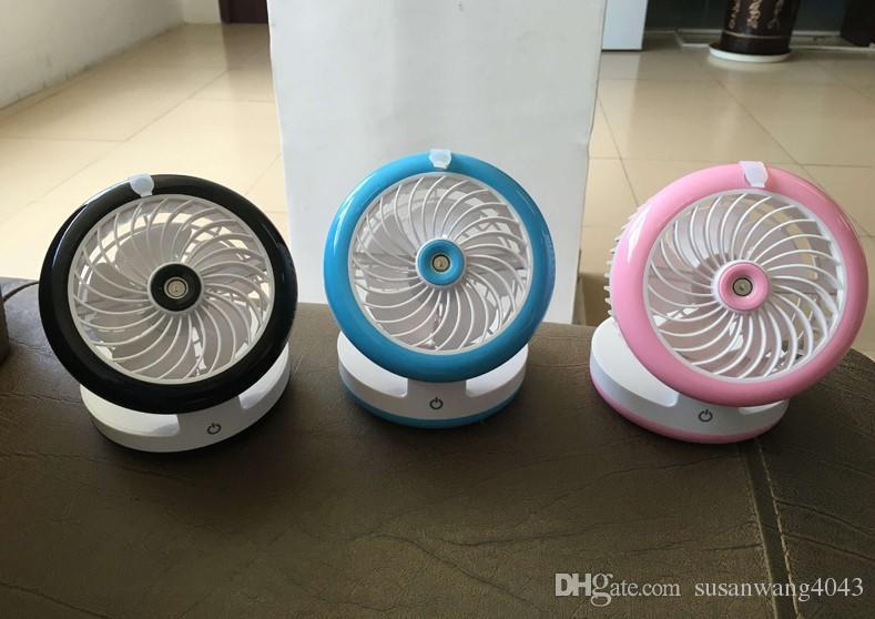 DHL EMS banco do poder do telefone móvel Livre Cosmetologia USB spray de ventilador de escritório em casa ar condicionado quarto produtos Umidificador de recarga 3 em 1 USZJ004
