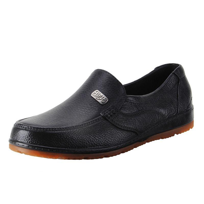 Hot Sales Men Work Shoes Hotel Kitchen Chef Non Slip Waterproof ...