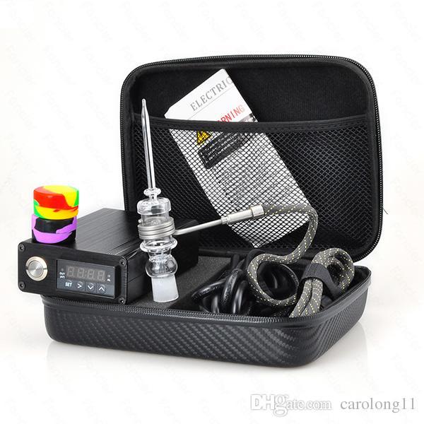 Kit complet Nail électrique Nail Electric Dab avec contrôleur de température 100w pour pipe à eau Bongs Oil Glass
