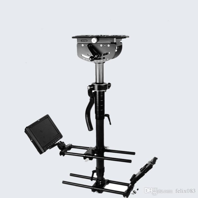 Freies Verschiffen für 6-16 KG Kohlefaser Handheld Video Stabilisator Steadycam Professionelle Broadcast Film Kamera Steadicam Weste Arm Kit