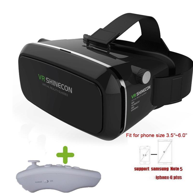 Acheter VR BOX Lunettes 3D Réalité Virtuelle Lunettes De Jeu Vidéo 3D VR  Shinecon 3D VR Glasse Contrôleur Gratuit Pour IPhone Smartphone Et Contrôle  ... 8fdfc6a8b044