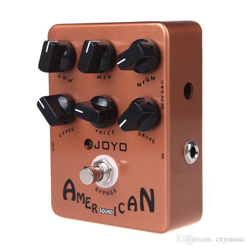 JOYO JF-14 Amerikan Ses Elektro Gitar Efekt Pedal Gerçek Bypass JF 14