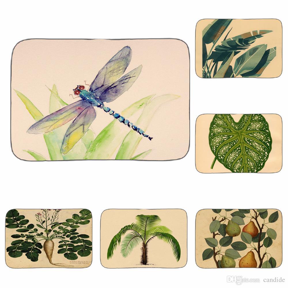 Salle De Bain Insecte ~ Acheter Libellule Illustration Insecte Art Tapis Salle De Bains