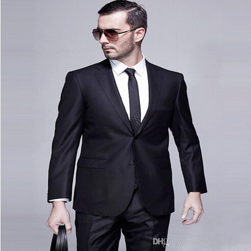 2017 Good Quality Men Suits Elegant Gentleman Business Occasions ...
