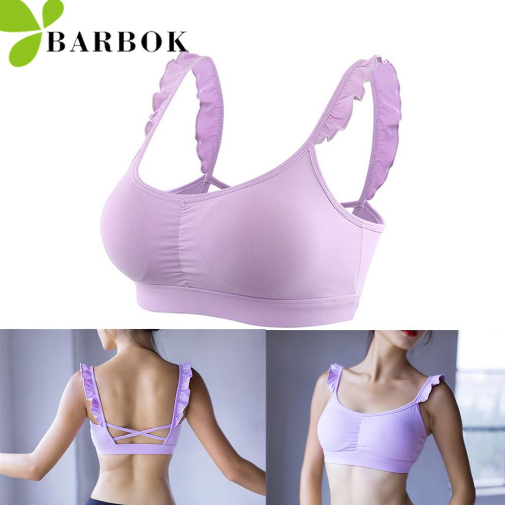 c737d3f0fd205 Wholesale- BARBOK Women Shockproof Sports Bra Gym Training Vest ...
