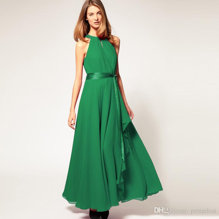Dress dress the new summer 2019 women's clothing in Europe and the irregular posed the dew shoulder chiffon dress sexy cultivate one's moral
