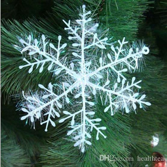 Christmas Ornaments Christmas Tree Decoration Silver Wire Snowflake ...