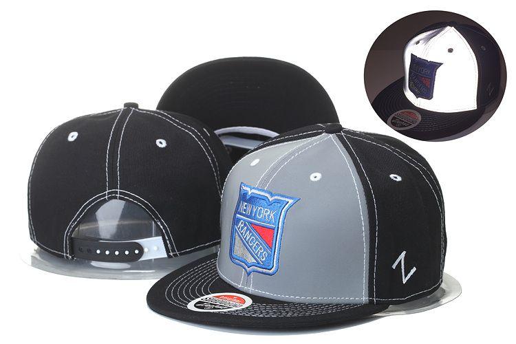 Men S New York Rangers Zephyr Design NHL Snapback Hats Black Color Sport  Hockey Vintage M N Baseball Adjustable Caps Customized Hats Custom Hat From  ... 97f75152e5c