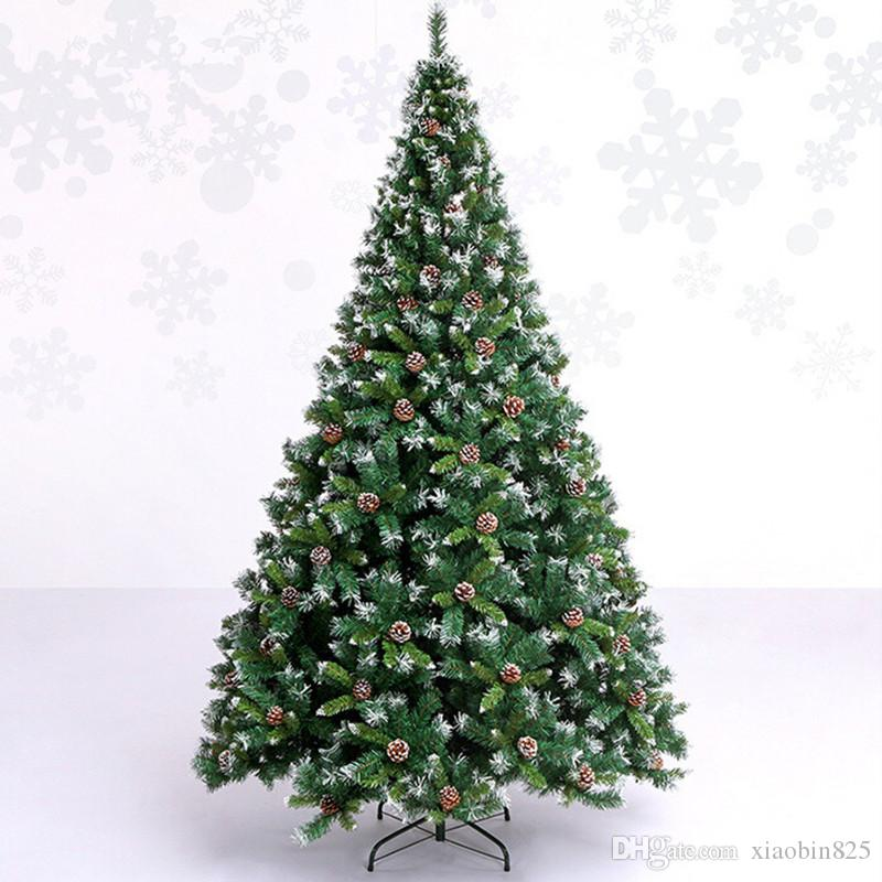 Christmas Tree Decorations Names.2 4 M 240cm Soiled White Snowflake Christmas Tree Decoration Pineal Auto Mall Bar Decorated Hotel