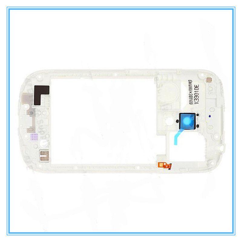Bianco nero originale nuovo telaio centrale cornice Samsung Galaxy S3 mini i8190 Nuovo di alta qualità spedizione gratuita intero vendita al dettaglio