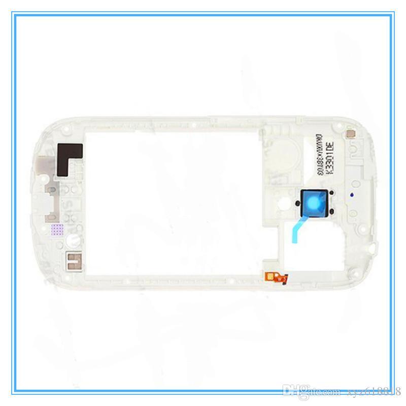 Blanco Negro Original Nuevo Marco Medio Bisel Vivienda para Samsung Galaxy S3 mini i8190 Alta Calidad Nuevo Envío Libre Toda la Venta al por menor