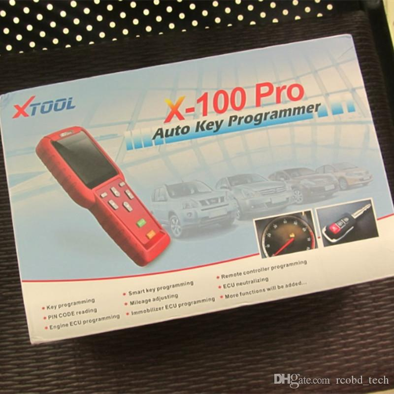 Original XTOOL X100 Pro X-100 transponder cloner Key Programmer For Cars ECU Immobilizer Pin Code Reader X 100 Multi Brand Cars