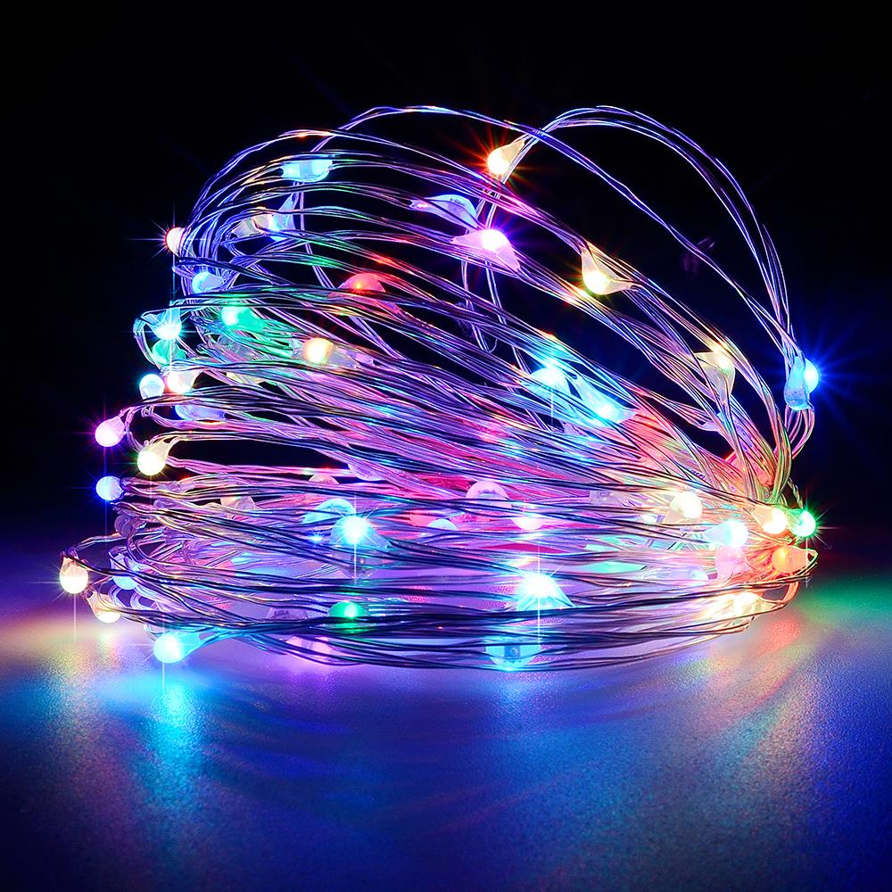 set lights new color multi of light ge lighting outdoor string led christmas staybright walmart