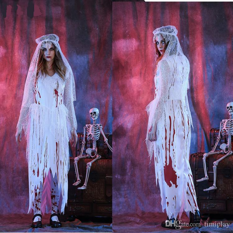 compre halloween terrorista sangriento fantasma sangriento sangre