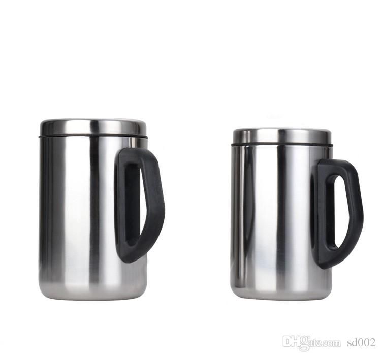 Double Layer Mug Business Gift Stainless Steel Insulated Cup Portable Travel Coffee Tumbler New 6 86jd C R