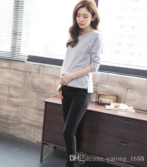 New Moms Maternity Pants summer Maternity Trousers High waisted Pregnancy Trousers for pregnant women pregnancy clothes