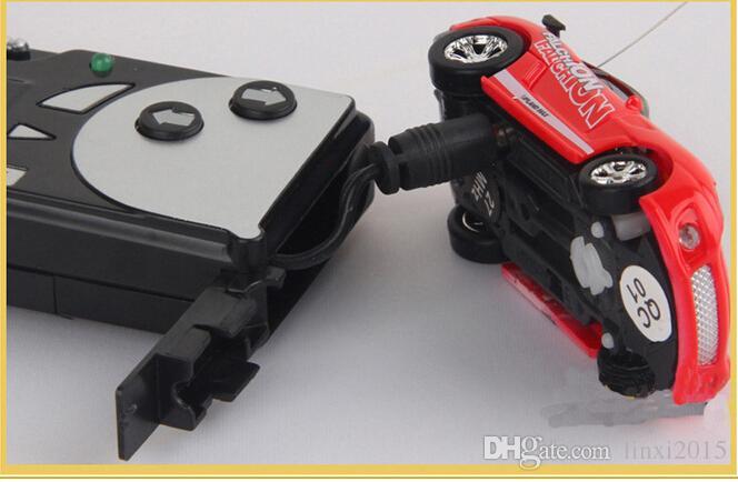 christmas gift Mini-Racer Remote Control Car 1:64 Coke Can Mini RC Radio Remote Control Micro Racing Car