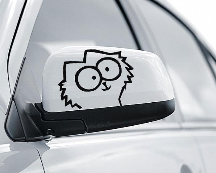 Of two fun decal simons cat f vinyl funny goodlooking car decals stickers window phone decal sticker from mysticker 3 9 dhgate com