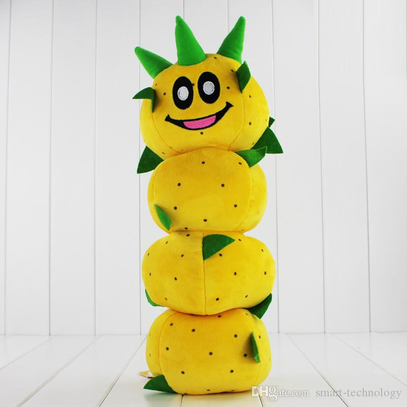 New Arrival Super Mario Bros Caterpillar Pokey Sanbo Cactus Plush Doll Toy 40cm High Quality EMS