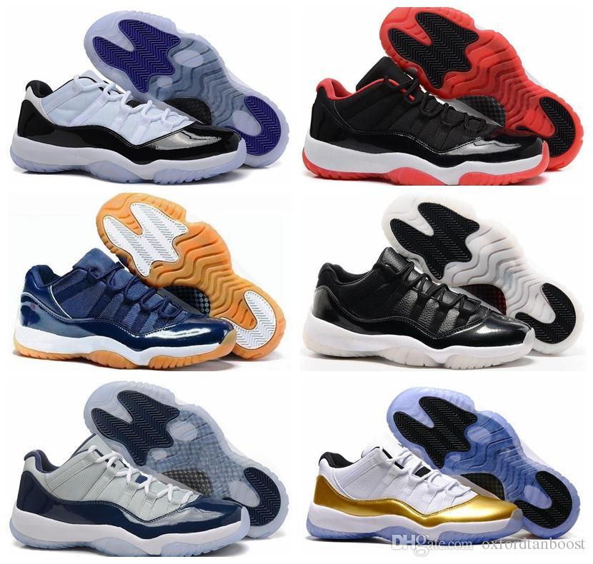 e7e682d398093b Men 11 George Town Basketball Shoes Concord 11s Low Metallic Gold ...