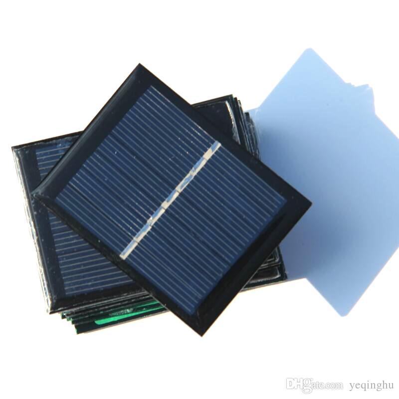 Wholesale 3.5V 0.45W 120mA Mini Solar Cell Polycrystalline Solar Panel DIY Solar Module Education Kits High Quality