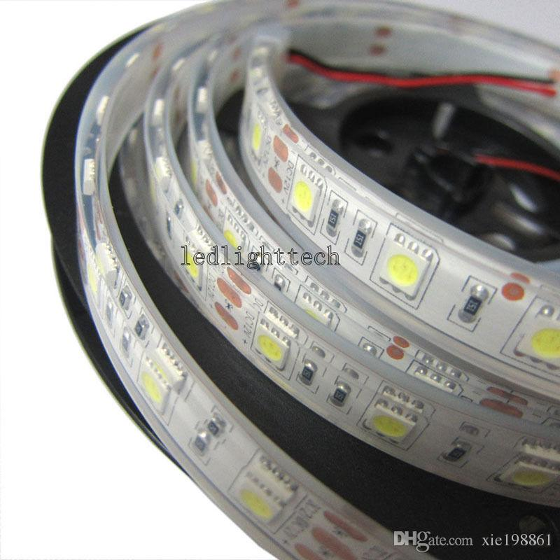 TOP 20REEL / 5M 5050 300 SMD Flex LED Light Strip IP68 Underwater Waterproof 12V, TUTTO IL COLORE