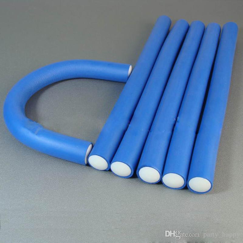 Hot Health & Beauty Hairstyle Bendy DIY Hair Roller Curls Tool Foam Curler SpongeHair Curlers Curling Iron Hair Curlers Curling Iron