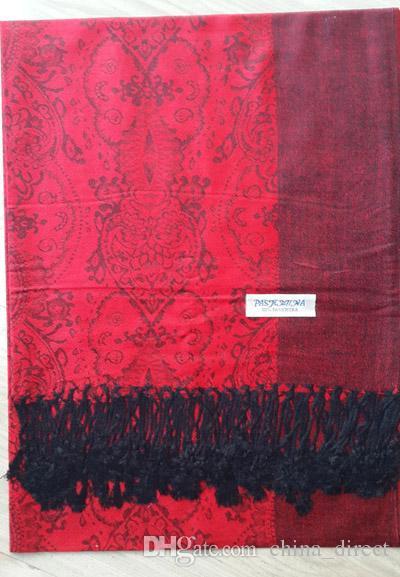 US SELLER-lot of 12 shawl scarf paisley  rainbow pashmina scarves viscose