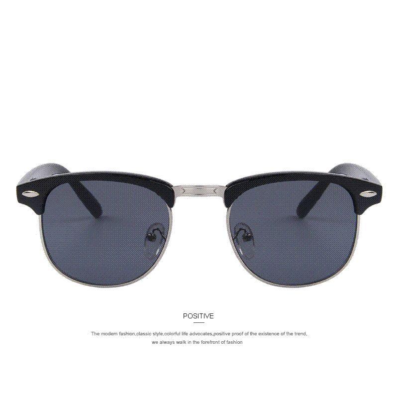 Len Klassisches Design merry s fashion retro rivet sunglasses brand