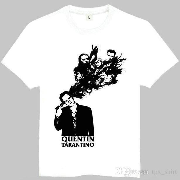3d69ca91 Pulp Fiction T Shirt Quentin Tarantino Short Sleeve Gown Good Director Tees  Leisure Unisex Clothing Quality Cotton Tshirt Random T Shirts Poker T Shirts  ...