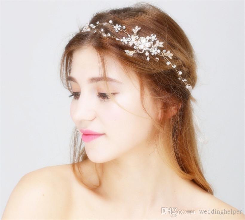 Vintage Wedding Headpiece Crown Tiara Bridal Crystal Rhinestone ... bc55303856ff