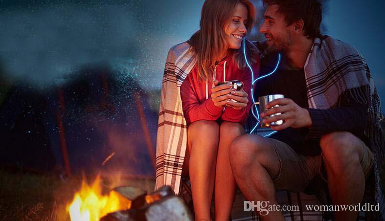 Zipper Noctilucent écouteurs Noctilucent Casque Filaire Contrôle Éclairage In-Ear Écouteurs Casque avec Micro pour PC Portable MP3,4 Samsung Iphone