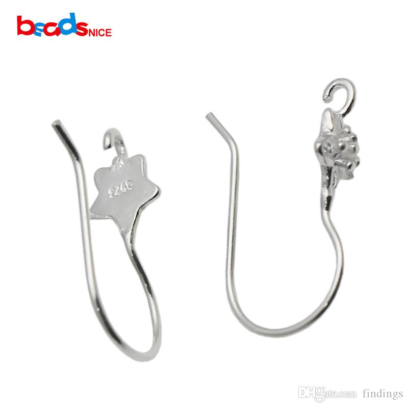 Wholesale Pure Silver Wire Earring Sterling Silver French Earring ...