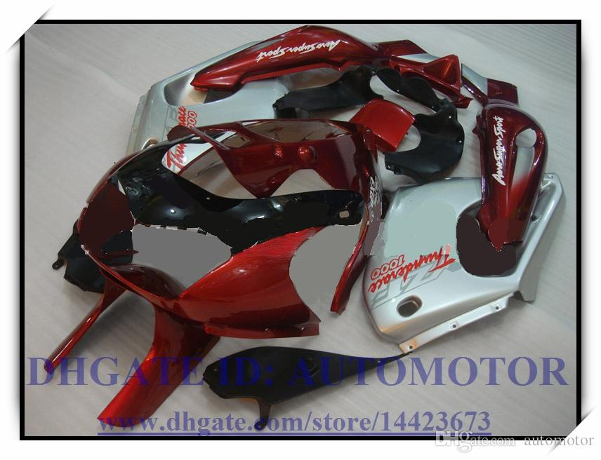 Kit carena in ABS di alta qualità YAMAHA YZF1000R 1996-2007 1997 1998 1999 2000 YZF 1000R 1996-2007 YZF1000R 96-07 # DX863 ROSSO