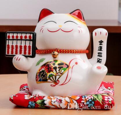 Le chat le gros chat japonais magasin caisse enregistreuse petit argent cadeau d'ouverture