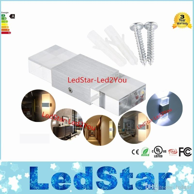 Modern led wall lamps 6W 12W bed room bedside lamp Aluminum Acrylic bathroom light living room indoor wall decoration lighting