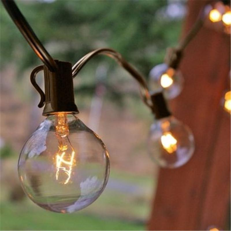 Perfect Wholesale 35x 10m Clear Globe G40 String Lights Set Bulbs Included Patio  Lights U0026 Patio String Light Bulbs Holiday Balcony Lights Patio Light  Strings ...