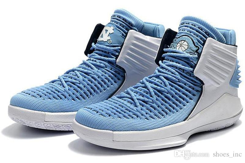 2017 New 32 XXXII Flights Speed 32 North Carolina Blue Mens Basketball Shoes  Sports Shoes 7 12 UK 2019 From Shoes inc a580b5a0c675