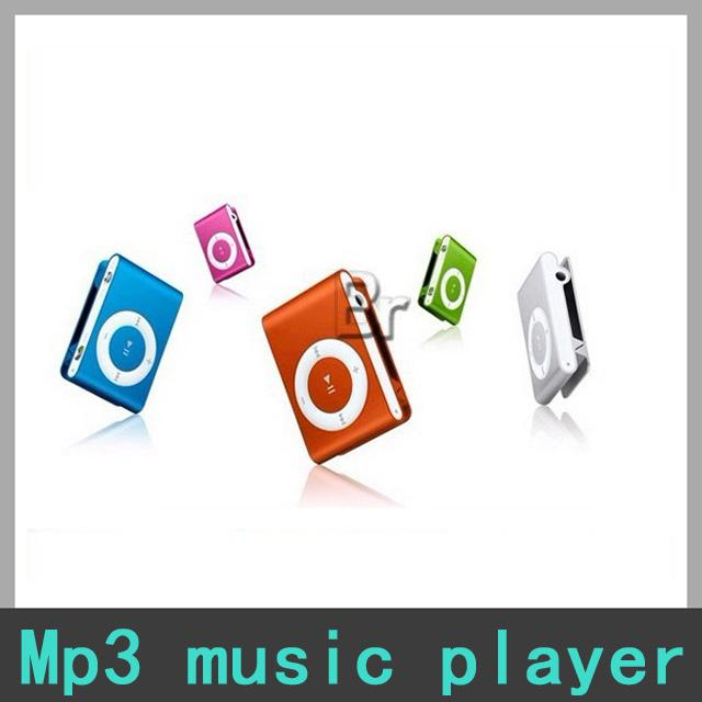 Hot Sell 2016 Mini clip MP3 Player Colorful MP3 Players without Screen - Support Micro TF SD Card 1-16GB -1
