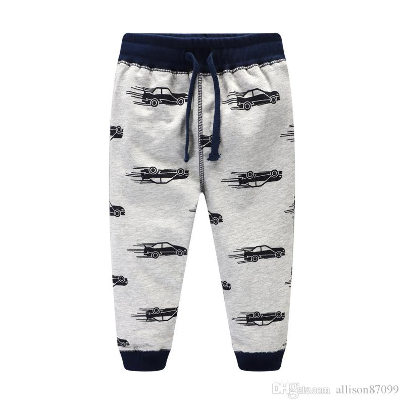d876c1c9358 Boys Pant Cool Cars Sweatpants 100%cotton Terry Casual Pants Trousers For  Kids Draw Cord Boutique Children Clothing 2017 Autumn Winter 2 7T Kids  Chinos ...