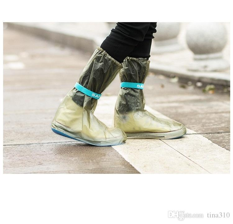 Wholesale New anti - skid shoes cover of outdoor rain shoes cover super waterproof High rain cover A0318