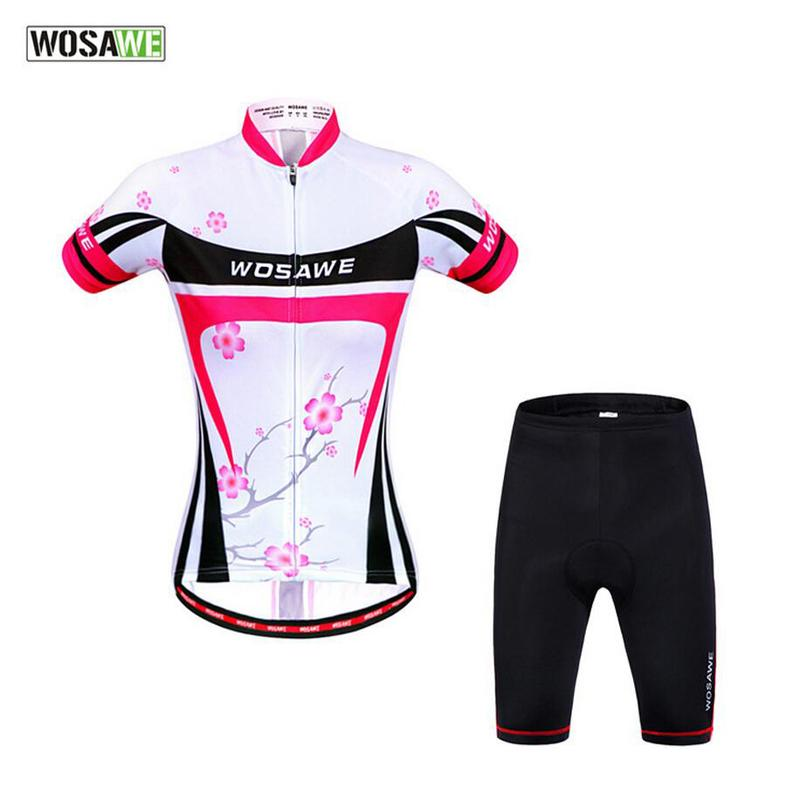 Wosawe Cycling Jerseys Women Breathable Bicycle Clothing Quick-Dry Mountain  Bike Short Sleeve Shirts Cycling Clothes H2087 High Quality Clothes for  China ... 0e0ae7bee