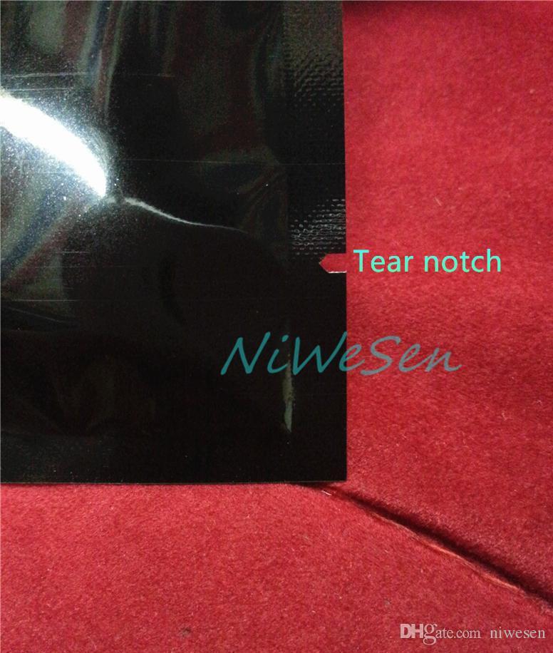 aluminized mylar embalagem do produto eletrônico bags-8X12CM chapeamento de alumínio preto bolsa plana calor top aberto quente sealable, saco vermelho roxo