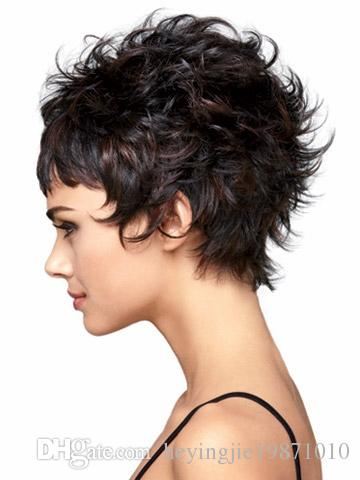 Xiu Zhi Mei 2017 Hot Sale heat resistant synthetic hair kinky curly synthetic short blonde wigs for older women