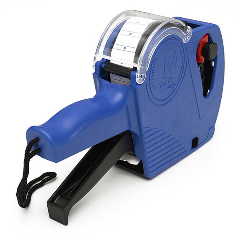 MX-5500 EOS 8 dígitos Etiqueta de precio al por menor Gun Labeler + 500 etiquetas + 1 rodillo de tinta