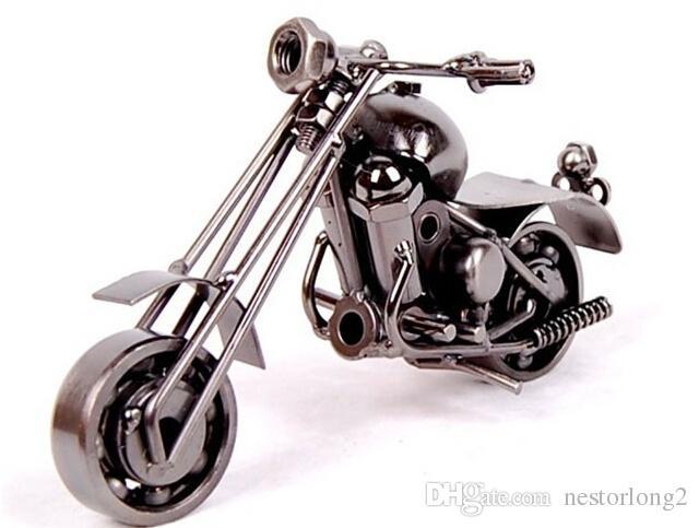 2016 새로운 홈 오피스 장식 철 오토바이 수제 금속 공예 오토바이 모델 아트 워크 크리스마스 선물 m34