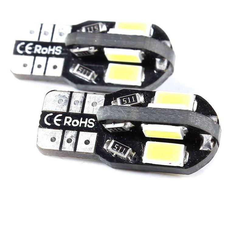 Canbus T10 W5W 168 194 8 LED 5630 5730 SMD 8smd 주차 조명 너비 램프 자동 쐐기 전구 자동차 면허 조명 12V